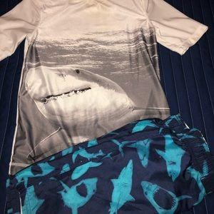 Shark swimsuit (worn handful of times)